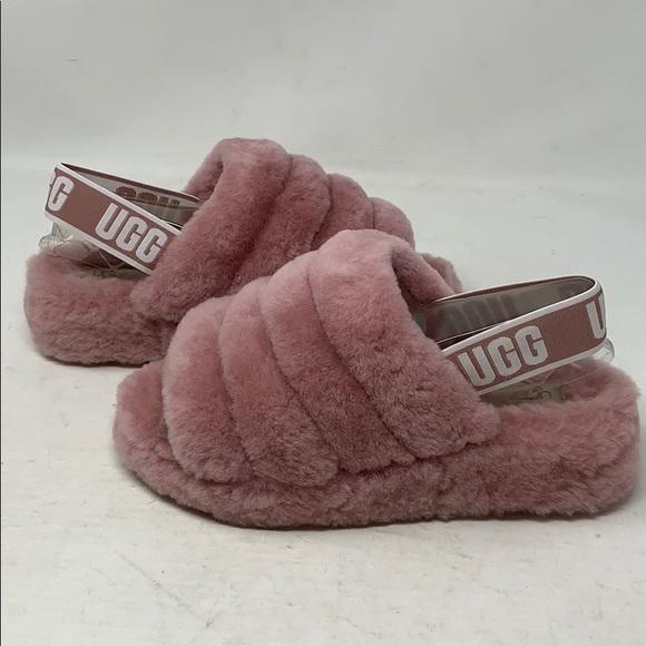 bbcb17724 UGG Women's Fluff Yeah Slide in Pink Dawn Sz7. M_5cb11891b146cc087e57b783